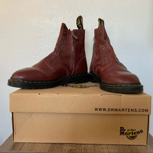 on feet images of official photos best supplier Dr. Martens 1460 Laceless Boots NWT